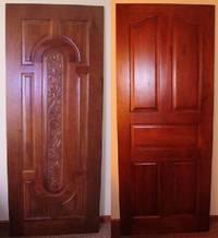 Элитные двери из дорогих сортов древесины