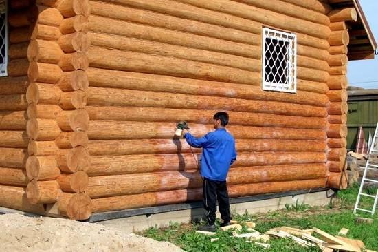 огнезащитная обработка дерева