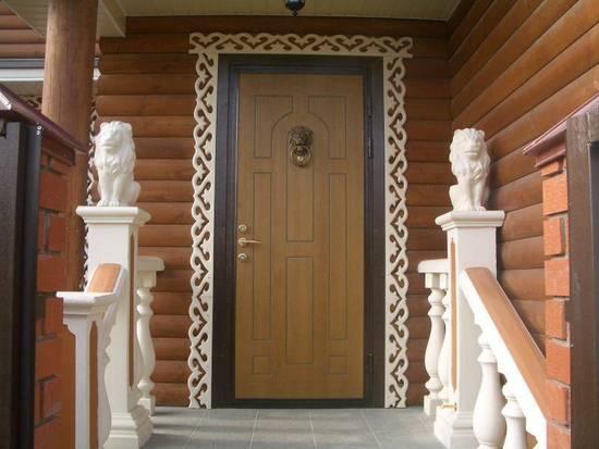 входных дверей
