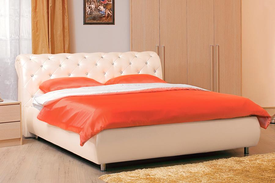 Двуспальные кровати в ассортименте производства Швейцарии