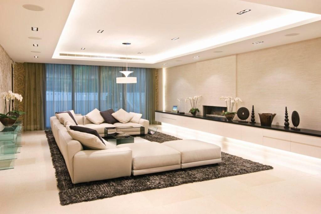 полы в современных гостиных.