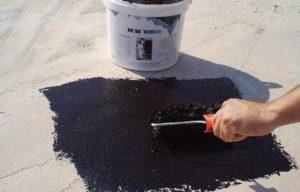 Жидкий битум для крыш