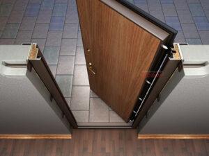 Преимущества трехконтурных входных дверей