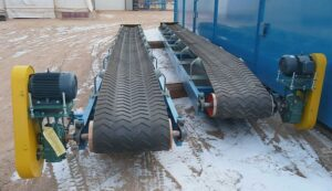 Применение ленточных конвейеров