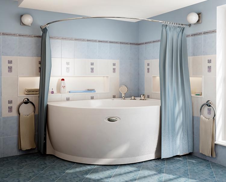 Карниз для ванны: что нужно учитывать