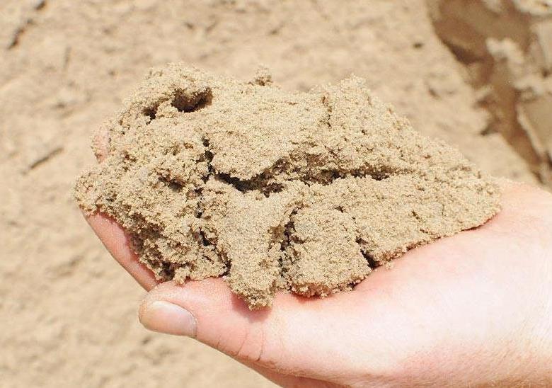 Песок — один из основных строительных материалов