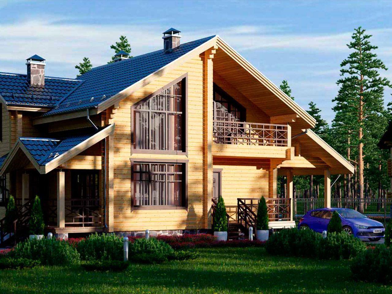 Проекты и строительство деревянных домов